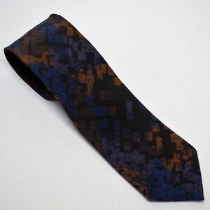 Vintage 100% Silk Necktie Handmade in Italy 57 Inch