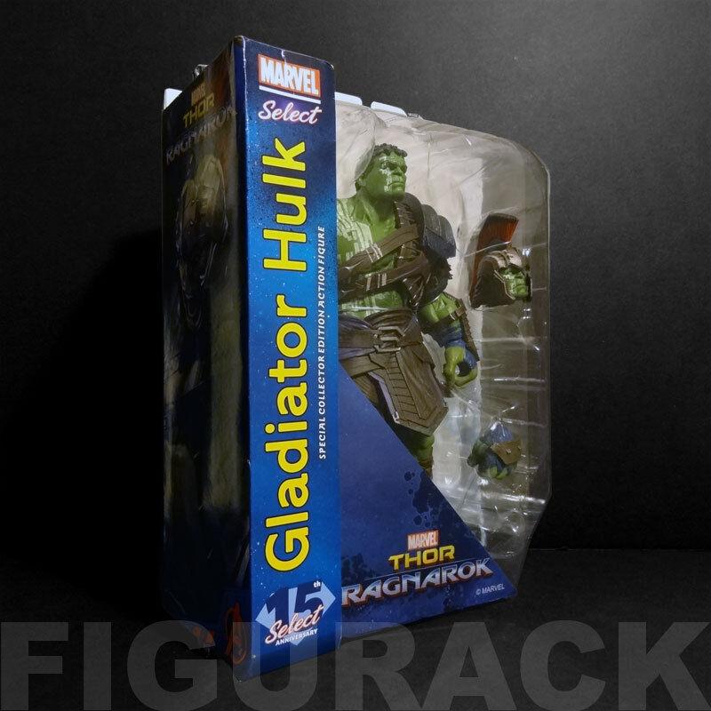 Diamond Select Thor  Ragnarok Gladiador Hulk Figura De Acción De 10