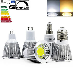Dimmable-GU10-MR16-E27-E14-LED-COB-Ampoule-Lampe-9W-12W-15W-Blanc-Chaud-Blanc