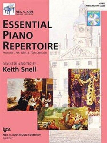 Essential Piano Repertoire (17th, 18th, & 19th Centuries, Primer - Level 10)