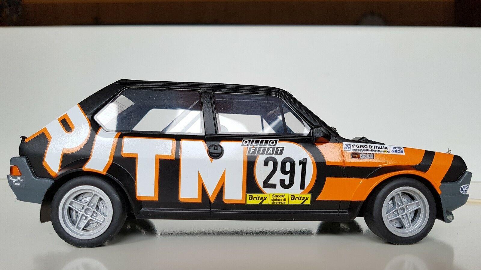 Kit di montaggio 1 18  Ritmo 75 Abarth giro D'Italia 1978 Patrese-pozzetto