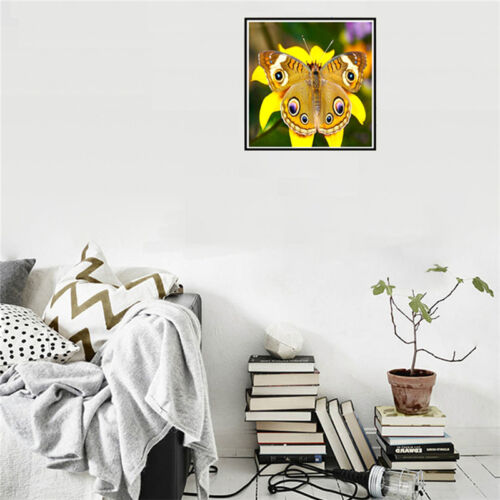 Embroidery Butterfly Wolf DIY 5D Diamond Painting Cross Stitch Craft Home mmvv