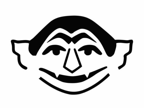 Le comte von Dracula Autocollant Vinyle Autocollant Voiture Mur camion Taille Choisir Couleur