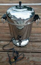 Farberware Stainless Steel Percolator Coffee Maker Urn Pot Auto Commercial Prop