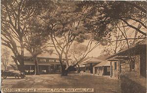 Pastori's Hotel And Restaurant-Fairfax-Ca-Near San Anselmo ...