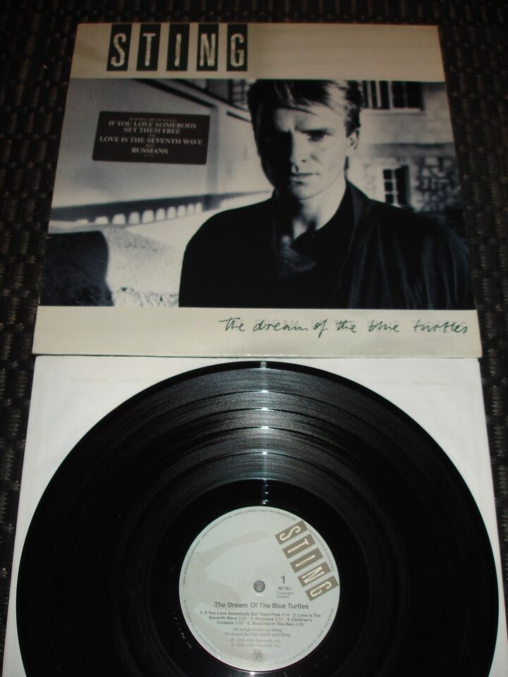 LP, Sting, The Dream Of The Blue Turtles