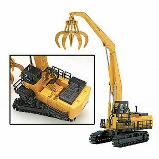 Joal 292 Komatsu PC1100LC-6 Material Handler w/Grapple 1/50 Die-cast New MIB