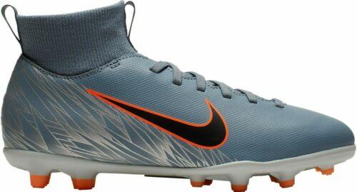 Nike Kids/' Mercurial Superfly 6 Club FG Soccer Cleats AH7339-408 Blue//Grey