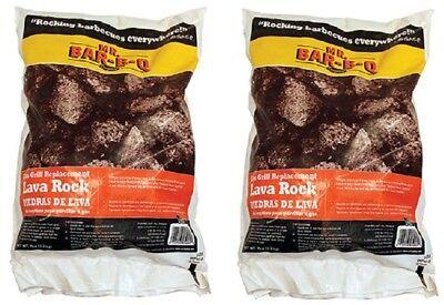 7 Lb Bar-B-Q 05002X Gas Grill Replacement Natural Lava Rock Mr