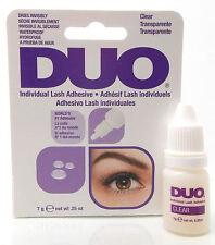 *NEW* DUO INDIVIDUAL LASH Adhesive Glue CLEAR Eyelash Lash False Fake Lashes
