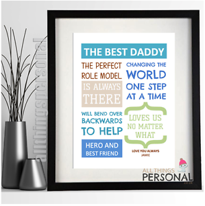 Image Is Loading Fathers Day Gift DAD DADDY GRANDAD GRANDPA Keepsake