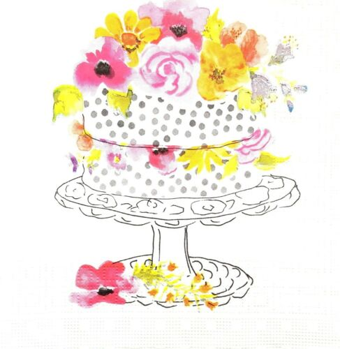 Party  Decopatch Craft  Sweet Celebrate Paper Napkins set of Four