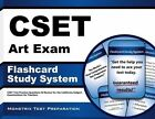 CSET Art Exam Flashcard Study System 9781609715502 Cards