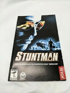 Stuntman  PlayStation 2 PS2 AUTHENTIC MANUAL ONLY
