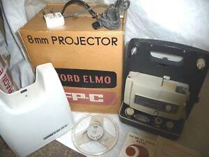 Humour Cine Film Projecteur Ilford Elmo Fp-c 8 Mm + Boîte D'origine + Instructions-afficher Le Titre D'origine Lissage De La Circulation Et Des Douleurs D'ArrêT