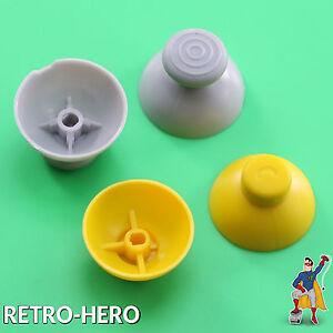 4-Analog-Stick-Caps-Kappen-fuer-Nintendo-Gamecube-Controller-Ersatz-Knoepfe-Thumbs
