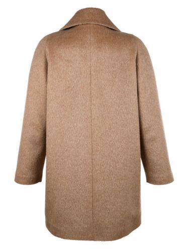 46 071773177 8 Di alta qualità breve cappotto in lana Giacca Cammello Tg 44 MIS
