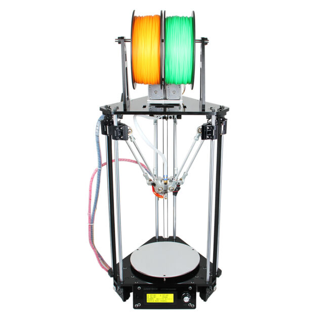 Geeetech Kossel Delta Rostock G2s Pro dual extruder Auto Level 3D Printer