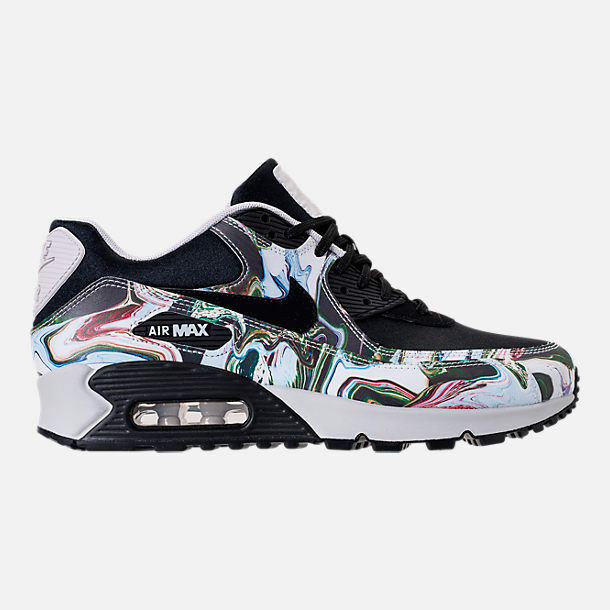 WMNS NIKE AIR MAX 90 MARBLE BLACK RUNNING SHOES  WMN'S SELECT YOUR SIZE