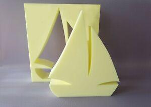 Details Sur Lv Beton Cire Styrodur Voilier Hauteur 39 Cm Meme Coulee Creatif Sculpture Afficher Le Titre D Origine