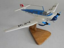 Ago Ao 192 Kurier Light Transport/Utility Aircraft Wood Model Free Shipping BIG