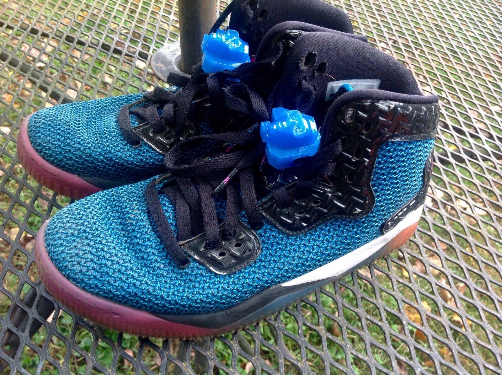 Mens Air Jordan Spike Forty Black Fire Pink Photo Blue Atomic Orange Shoes SZ 8