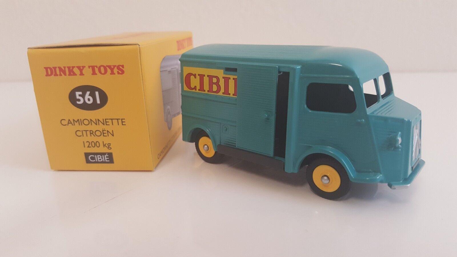 Schäbiges spielzeug atlas - citro ë n camionnette von 1200 kg cibi é (s. 561)