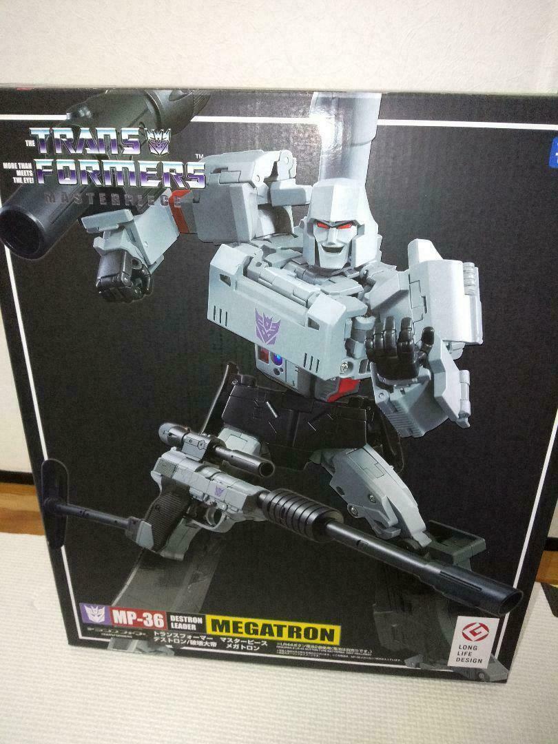 Raretransformers Masterpiece MP-36 Megatron juguete Hobby Anime Japonés Envío Gratis