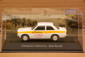 Altaya-1-43-Chevrolet-Chevette-Auto-Escola-Auto-Car-Diecast-Models-Collection