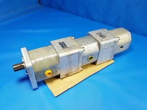 3x Orsta A10 Hydraulikpumpe Doppelpumpe mit 2x C25-3 TGL 10859 Inkl. MwSt