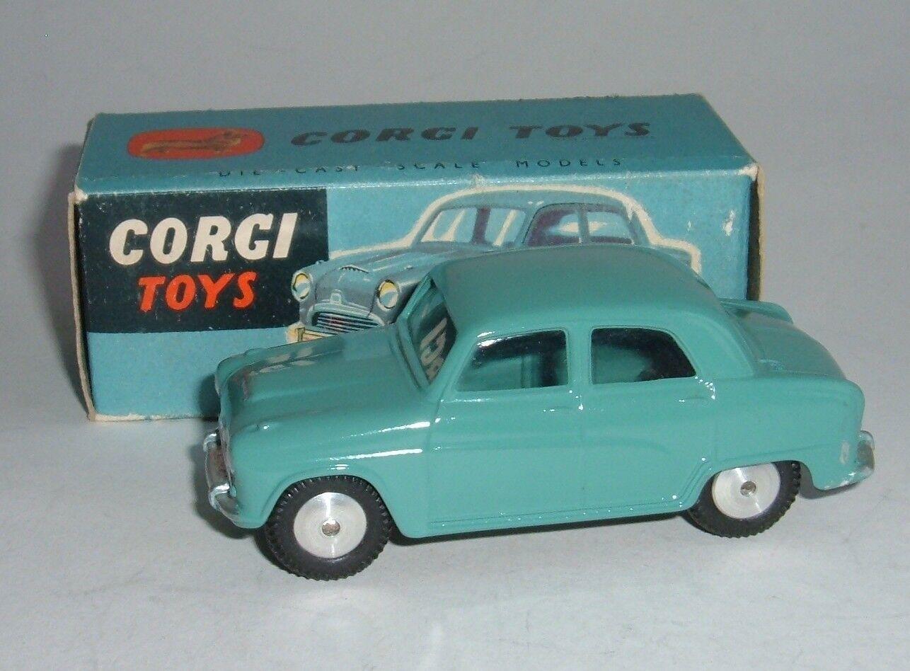 Corgi leksaker No, 201, Austin Cambridge Saloon, Superb Mycket Nära Mint.