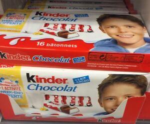 Lot-Revendeur-Destockage-Palettes-Solderie-De-64-Kinder-Chocolat-Dlc-Longue