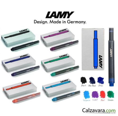 Lamy Cartucce T10 5 pzRicambi Penne StilograficheFountain Pen Cartridges