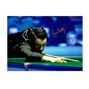Ronnie-O-039-Sullivan-Signed-Photo-1000th-Century
