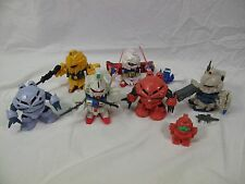 6 Gundam Mini model lot, 6 figures + bonus, wing weapons, see pics Kit