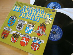2 LP Das Goldene Blasmusik Album Paul Klammt Otto Ebner Vinyl Philips 6623 062