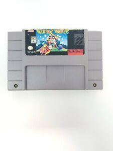 Wario's Woods (Super Nintendo Entertainment System, 1994) SNES