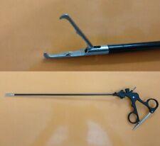 Laparoscopy Storz Type Tenaculum Grasper With Teeth Forceps Instruments 5mm
