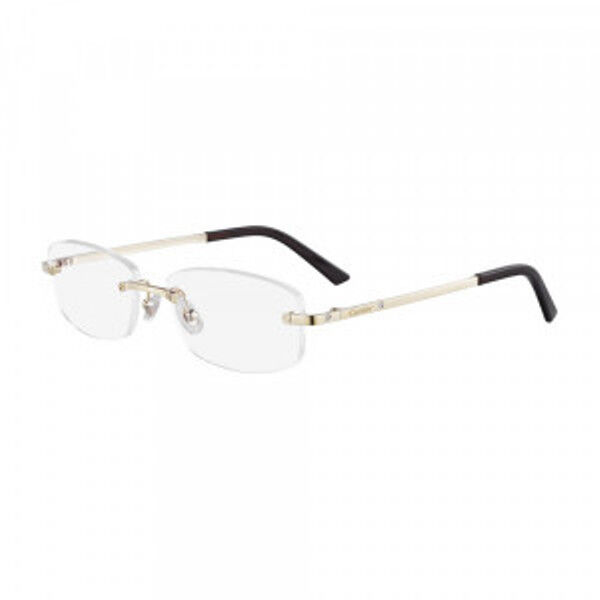 cbda5115711 Cartier Eyeglasses Gold Ct 0086o 001 France 54mm Authentic Frames Rxable  for sale online