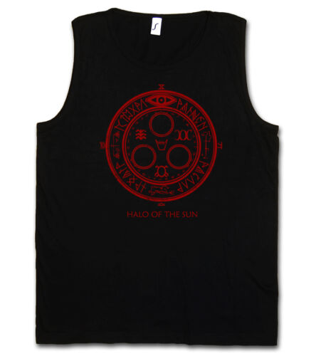 Halo Of The Sun Logo Tank Top Vest T-shirt Silent Movie Hill Satanic Circle 666