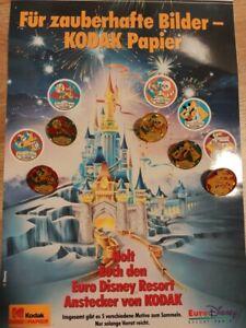 Euro-Disney-Kodak-Official-Sponsor-1992-five-complete-sets-25-Pins