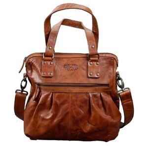 Pride-and-Soul-Lady-039-s-Bag-HOLLY-Vintage-Umhaengetasche-Leder-braun-47605
