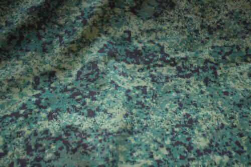 """SWAMP CAMO Cotton  Fabric Print 6 By The Yard 60/"""" wide"""