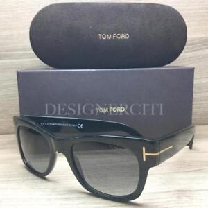 b85a88b5dca4 Tom Ford Cary TF58 58 Sunglasses Shiny Black 01D Polarized Authentic ...