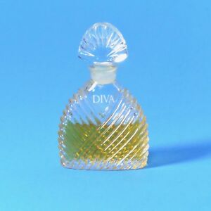 Vintage DIVA by Ungaro Perfume Eau de Parfum EdP Mini Miniature Glass bottle