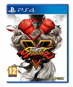 Street-Fighter-5-Sony-PS4-SteelBook-Limited-Edition-New
