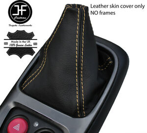 Crème Couture Top Grain Leather Manual Gear Gaiter Fits Honda S2000 1999-2009-afficher Le Titre D'origine Epsro4ea-07224802-588352056