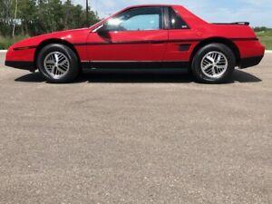 1986 Pontiac Fiero RARE FIERO SE COUPE PKG