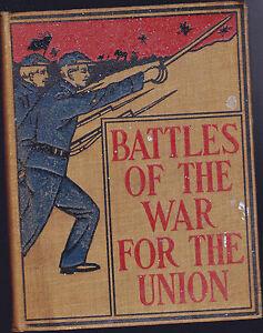 Battles-of-the-War-for-the-Union-by-Prescott-Holmes-ca-1900-Civil-War-HC