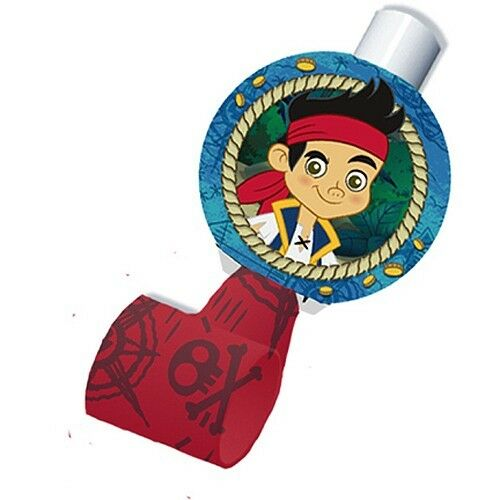 JAKE AND THE NEVER LAND PIRATES Birthday party supplies BLOWOUTS FREE SHIPPIN